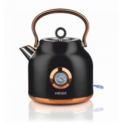 Chaleira Electrica 1,7L inox Art Deco Black